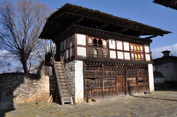 Chamkhang, the oldest building in the complex