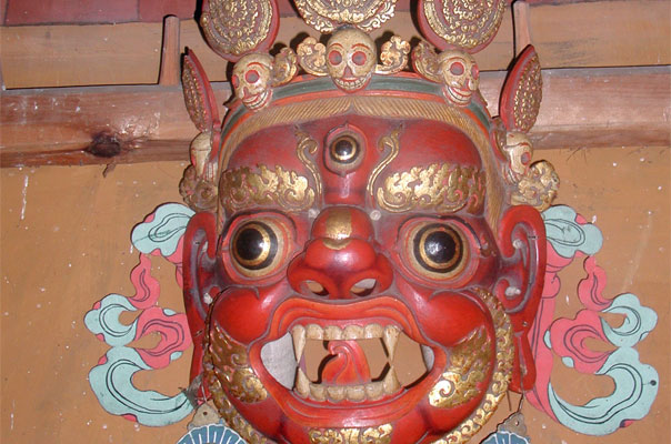 Mask of Choeki Gyalpo